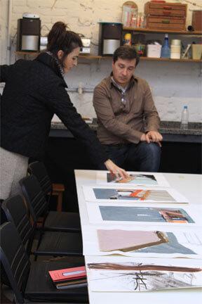 Acompanhamento individual de artistas com orientação de Marcelo Salles