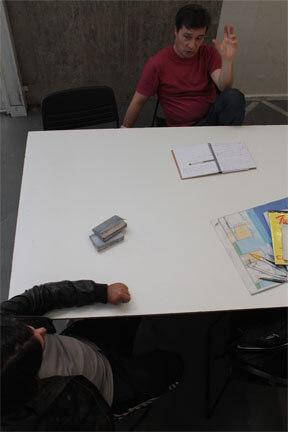 Acompanhamento individual de artistas com orientação de Marcelo SallesAcompanhamento individual de artistas com orientação de Marcelo Salles