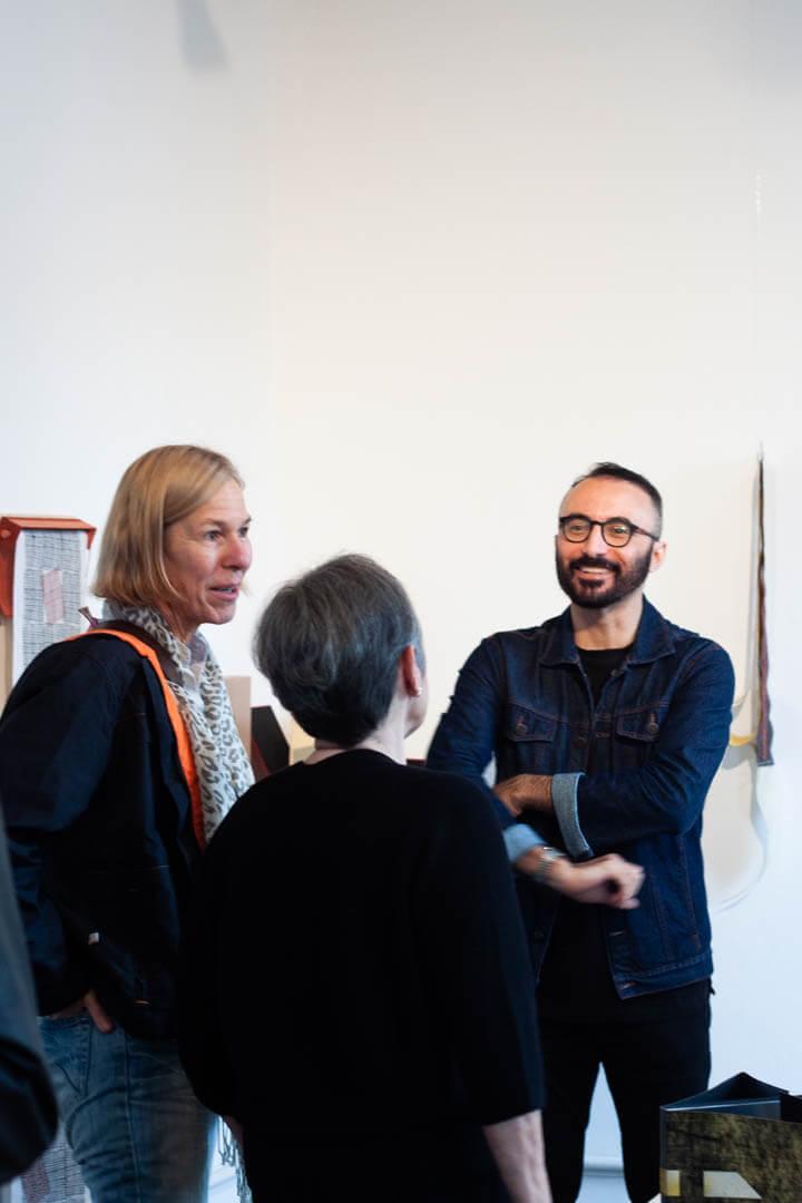 Exposição Minha Trajetória no Mundo dos Livros, Marisa Garcia de Souza – Fotografia: Vinícius Branco